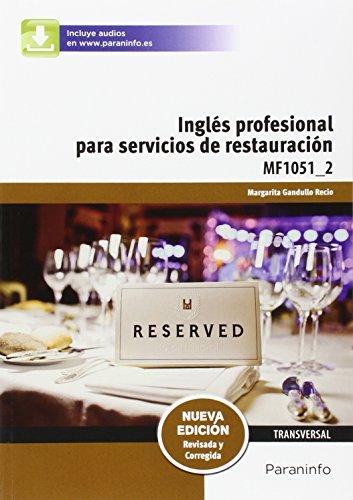 Descargar Libro Inglés Profesional Para Servicios De Restauración Margarita Gandullo Recio