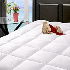 Bare Home Reversible Microplush Mattress...