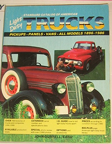 Kp Panel (Standard Catalog of American Light Duty Trucks: Pick-ups, Panel Vans, All Models, 1896-1986 (Standard Catalog of American Light-Duty Trucks, 1896-2000))
