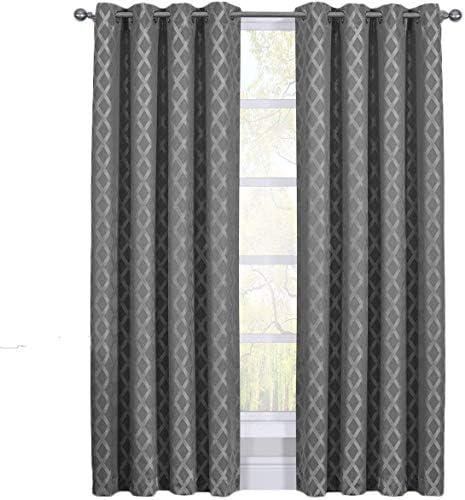 Rosaline Gray Curtains
