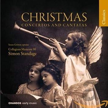 Mozart W A Christmas Concertos Cantatas Amazon Com Music
