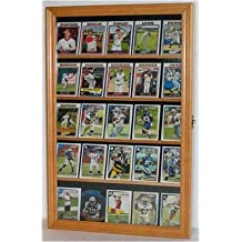 Baseball, Football, Basketball Sport Card Display Case Holder -OAK (CC01-OA)