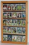 Baseball, Football, Basketball Sport Card Display Case Holder -OAK (CC01-OA)