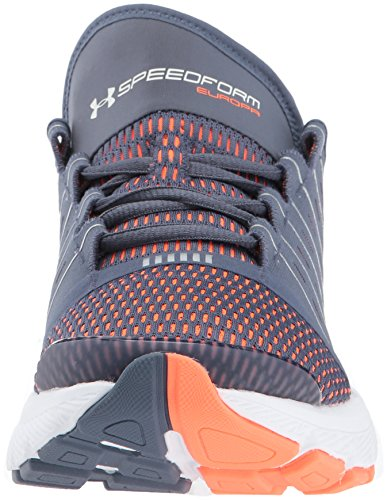 Sotto Le Scarpe Da Corsa Speedform Europe - Aw17 Apollo Gray / Magma Orange / Chrome