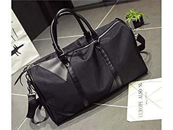 bc1677e5cb Image Unavailable. Image not available for. Colour: NqceKsrdfzn Outdoor  Large Capacity Oxford Textile Gym Bag Sports Holdall Travel Weekender Duffel  ...