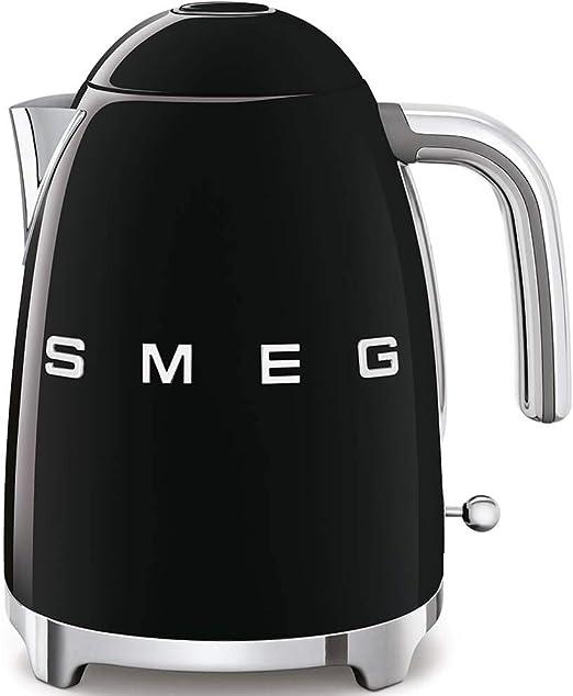 Smeg 4 Slice Toaster and Smeg 3D Logo Kettle Chrome//Polished Steel
