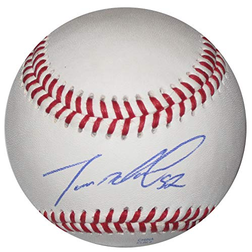 Dereck Rodriguez San Francisco Giants signed autographed Baseball, COA with the proof photo will be Included ()