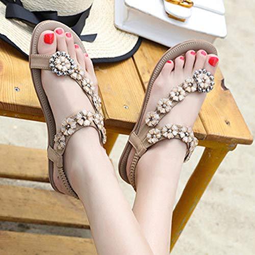 Sandalias Mujer Caqui Mujer Plataforma Cerrojo para Plataformas de Plataformas Verano Playa para Mujer Sandalias con Sandalias de Mujer con Plataforma Sandalias Sandalias Zapatos OqnSgwvY