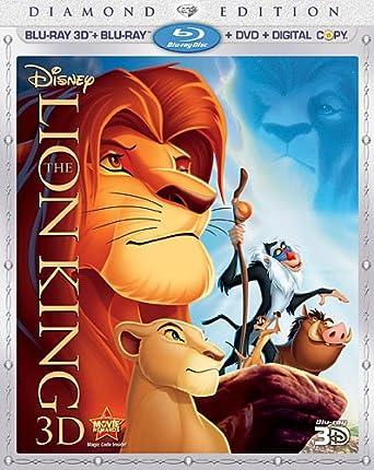 Amazoncom The Lion King Four Disc Diamond Edition Blu Ray