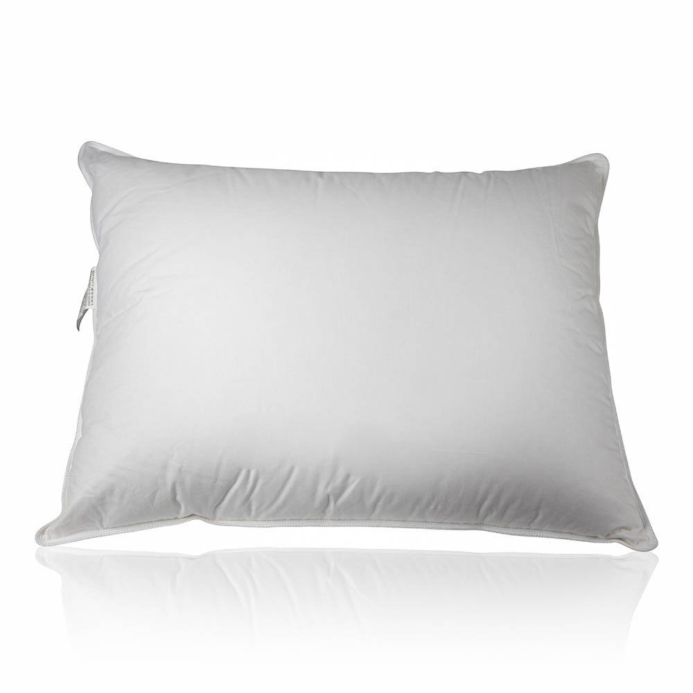Amazon.com: Premium 100% White Goose Down Medium Firm Pillow (Queen): Home  & Kitchen