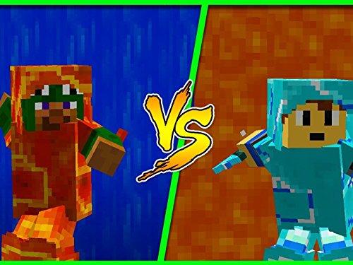(Clip: Lava vs. Water Armor Challenge!)