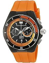Technomarine Mens TM-115161 Cruise Sport Analog Display Quartz Orange Watch