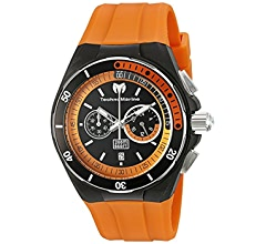 b7eabebccd Amazon.com  Technomarine Men s Cruise Stainless Steel Quartz Watch with  Silicone Strap