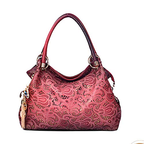- Outgeek Tote Handbag Womens Shoulder Bag Casual Signature Printing Pu Leather Tote