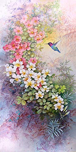 ird print of Watercolor Painting - Nature, Flowers, Peaceful Gifts, Gift for Ladies ()