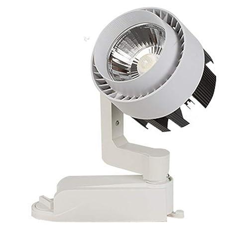 Luz LED de pista 25W35W40W45W techo riel luz luz track ropa tienda ...