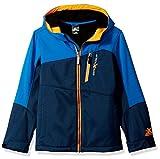 ZeroXposur Boys' Big Hoplite Softshell Jacket, Dark Navy Heather, Medium