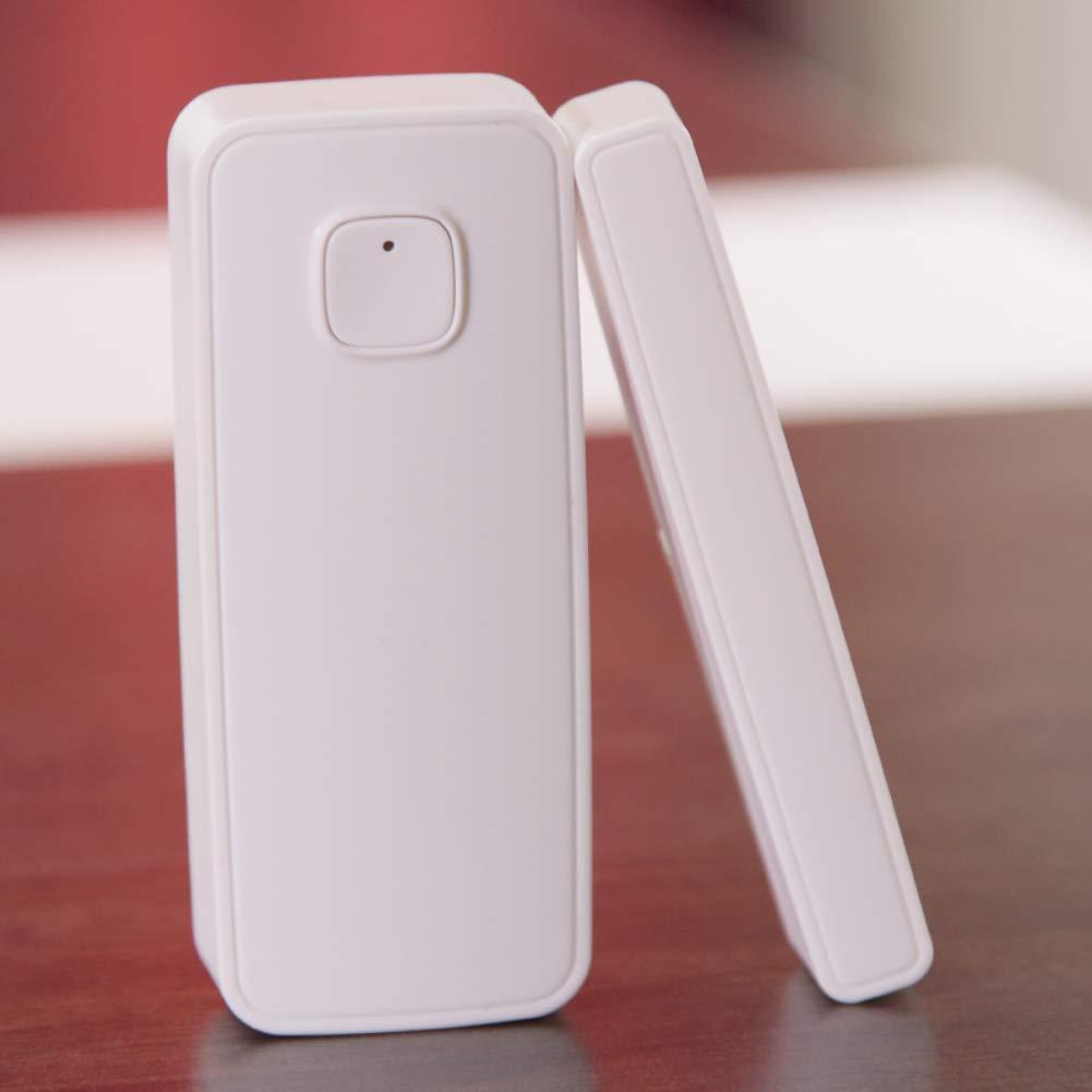 WiFi Smart - Detector de puerta y ventana con sensor magnético compatible con Alexa Echo, Google Home, IFTTT no requiere Hub: Amazon.es: Bricolaje y ...