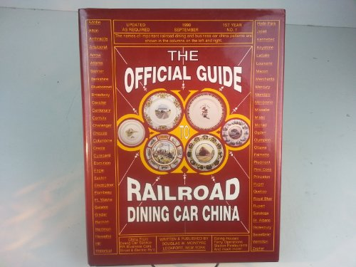 The Official Guide Railroad Dining Car China
