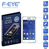 F-EYE Samsung Galaxy Core Prime 4G Screen Protector Tempered Glass