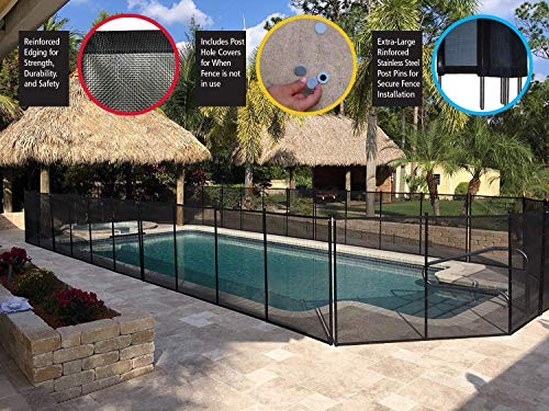 Water Warden 4' Pool Safety Fence (Renewed)