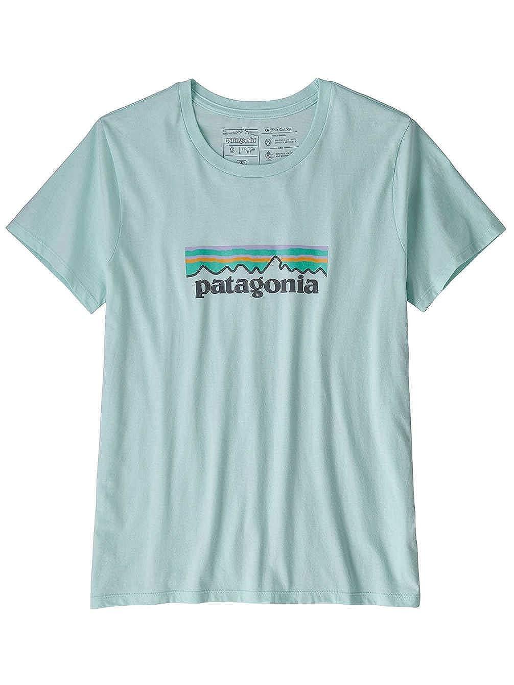 Patagonia Damen Ws Pastel P-6 Logo Organic Crew T-Shirt Hemd