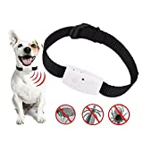 Pawaca Ultrasonic Pet's Pest Repeller Collar, Electronic Repellant for Mice, Mosquitos, Roaches, Spiders