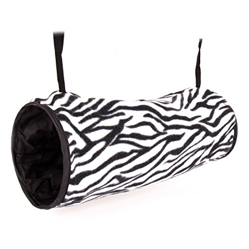 Ware-Manufacturing-Crinkle-Hang-N-Tunnel-Sleeper-for-Small-Animals-Colors-May-Vary