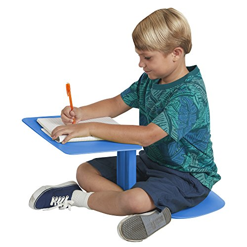 - ECR4Kids The Surf Portable Lap Desk/Laptop Stand/Writing Table, Blue