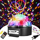 Best Disco Lights - Sound Activated Party Lights with Remote Control Disco Review