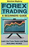 Forex: A Beginner's Guide To Forex Trading - Learn The Forex Basics And Start Building Riches (Forex, Forex Strategies, Forex Trading, Day Trading Book 1)