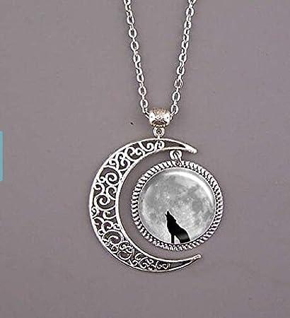 Amazon wolf necklacewolf jewelrywolf pendantdark clouds wolf necklacewolf jewelrywolf pendantdark clouds pendantmoon necklace mozeypictures Choice Image