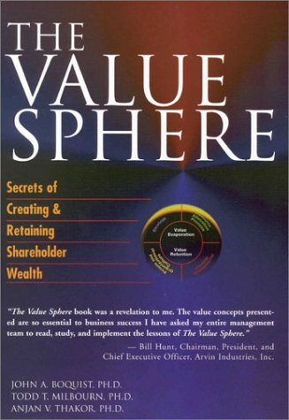The Value Sphere: Secrets of Creating and Retaining Shareholder Wealth John A. Boquist, Todd T. Milbourn and Anjan V. Thakor