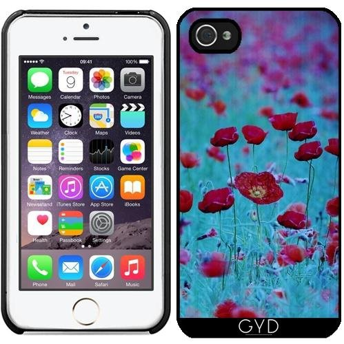 Coque pour Iphone 5/5S - Poppys by Anne Seltmann