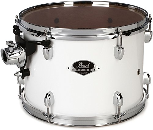 Pearl Export EXX Mounted Tom - 13 Inches X 9 Inches, Pure White by Pearl