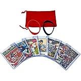 Boston Red Sox Baseball Cards: Mookie Betts, J.D. Martinez, Dustin Pedroia, Xander Bogaerts, Mitch Moreland, Andrew Benintendi, Eduardo Rodriguez ASSORTED Trading Card and Wristbands Bundle