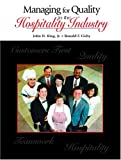 img - for Managing for Quality in the Hospitality Industry book / textbook / text book