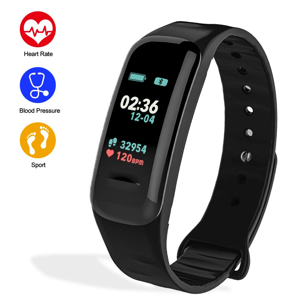e Monitor, IP67 Waterproof Activity Tracker with Heart Rate Sleep Monitor Calorie Pedometer for Kids Men