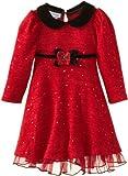 Bonnie Jean Little Girls' Glitter-Knit Empire Dress