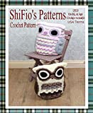 Crochet Pattern - CP235 -  Owl Cushion cover, pyjama case -  USA Terminology