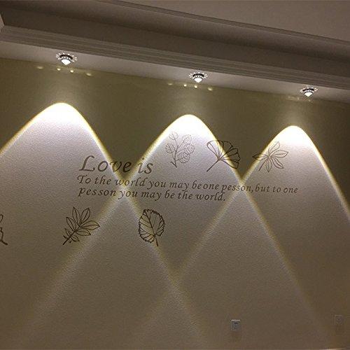 Proyector LED lámpara salón sofá pared lámpara luz del punto foco ...
