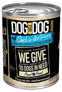 DOG for DOG 2031 Chick-a-doo Puppy Wet Dog Food, Size 13