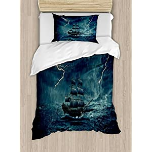 517S2WIe8yL._SS300_ 100+ Nautical Duvet Covers and Nautical Coverlets For 2020
