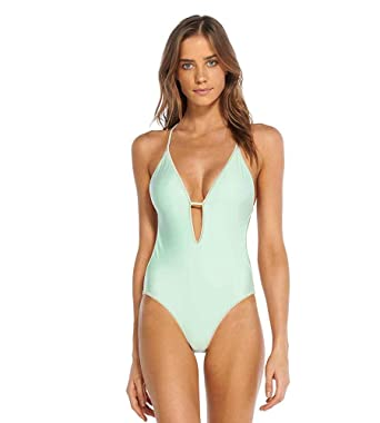 3000db82938 ViX Paula Hermanny VIX Women's Solid TESS ONE Piece BR at Amazon Women's  Clothing store: