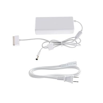 DJI Phantom 4 - Part 9 100W Battery Charger + Part 12 Power Adaptor Cable(USA & CA): Camera & Photo