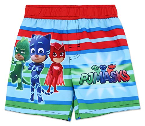 (Toddler Boy PJ Masks Swim Trunk 3T )