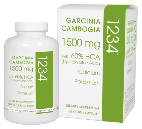 Creative Bioscience Garcinia Cambogia 1234 Diet Supplement, 180 Count by Creative Bioscience