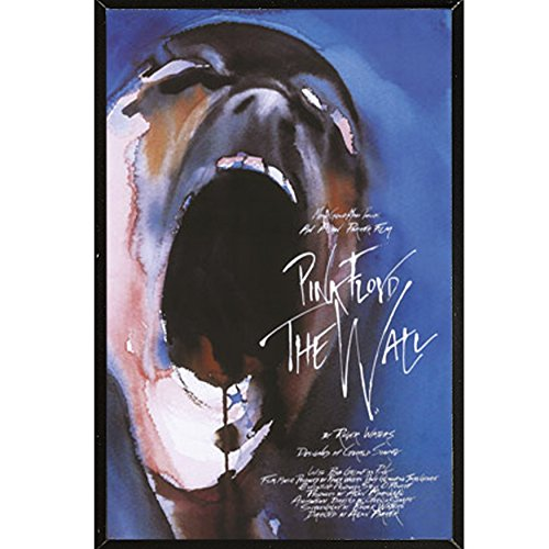 Pink Floyd The Wall Film Poster on a Black Plaque  18447-PSA