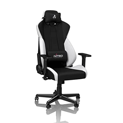 Remarkable Nitro Concepts S300 Gaming Chair Office Chair Desk Chair Cold Foam Padding Radiant White Ibusinesslaw Wood Chair Design Ideas Ibusinesslaworg