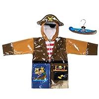 Kidorable Rain Coat - Pirate 4T